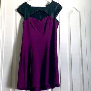 Betsey Johnson purple dress size 14